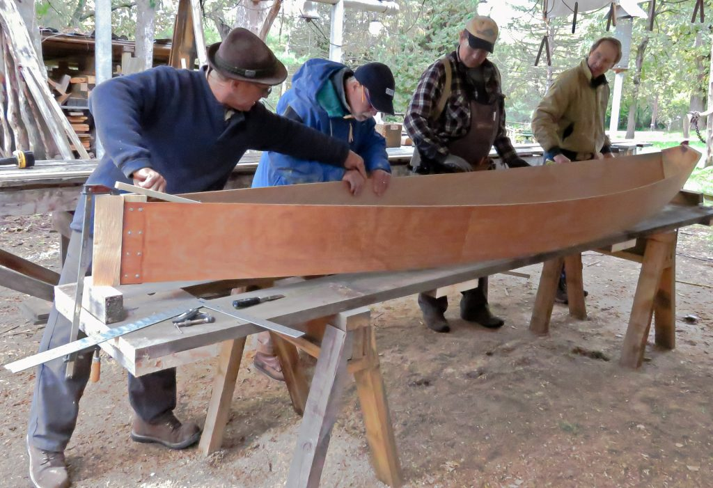 Boat Building Class in October, 2018