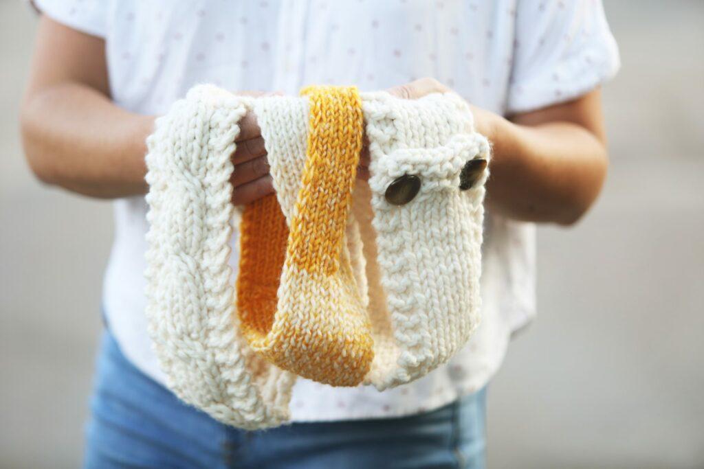 Beginning knitting headbands
