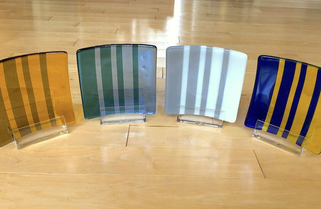 glass Nature plates